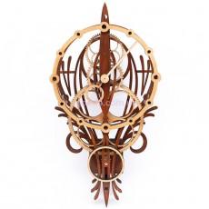 Настенные часы с деревянным механизмом Воздушный шар
