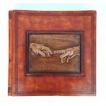 Фотоальбом в кожаной обложке Michelangelo (44*44см)