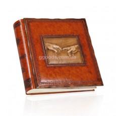 Фотоальбом в кожаной обложке Michelangelo (35*35см)
