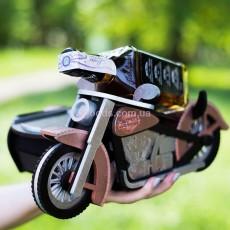 Подставка под бутылку мини-бар Мотоцикл
