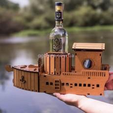 Подставка под бутылку мини-бар Корабль