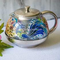 Чайник для заваривания чая Павлин 600 мл