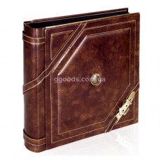 Кожаный фотоальбом Paestum