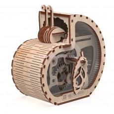 Конструктор деревянный Улитка-копилка