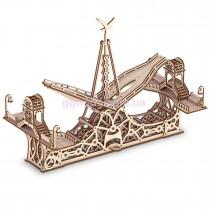 Конструктор деревянный Пешеходный мост