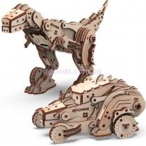 Конструктор деревянный Динокар