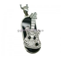 Флешка Гитара черный камень