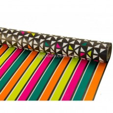Бумага для подарков разноцветная двусторонняя