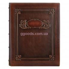 Кожаный фотоальбом Грифоны