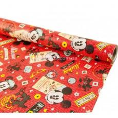 Бумага для подарков Микки Маус