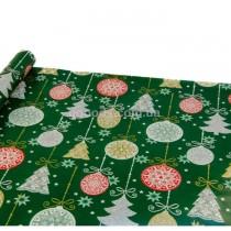 Бумага для упаковки подарков Новогодние игрушки