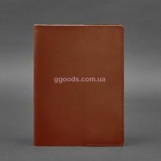 Обложка для блокнота светло-коричневая А5
