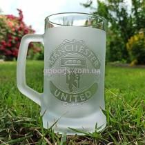 Пивной бокал Манчестер Юнайтед
