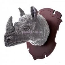 3D пазл из картона Носорог
