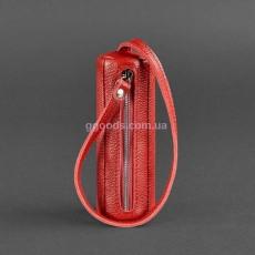 Футляр для ключей красный