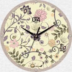 """Настінний годинник MINI """"Квітковий орнамент"""""""