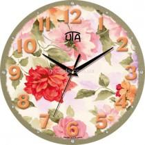 """Настінний годинник MINI """"Весняні квіти"""""""