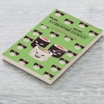 """Кулинарная книга для записи рецептов """"Роллы"""""""