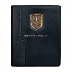 Кожаный блокнот Герб Украины А4 от Privilege