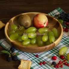 Тарелка деревянная 19,5 см