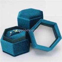 Шкатулка для кольца бирюзового цвета Элит