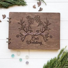 Книга для записей и фото на свадьбу