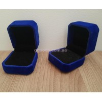 Коробочка для кольца синяя Уценка