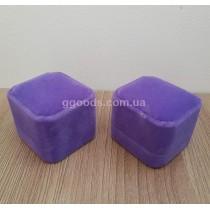 Шкатулка для кольца фиолетовая Уценка