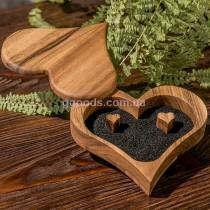 Шкатулка для колец на свадьбу Сердце
