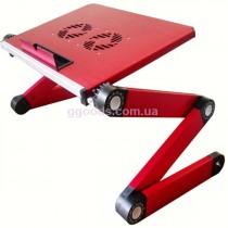 Столик для ноутбука T4 красный