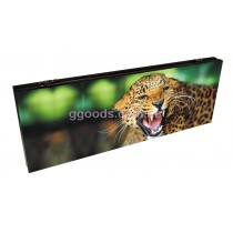 Нарды стеклянные Леопард