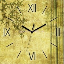 Настенные часы Бамбук