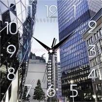 Настенные часы Город