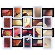 Деревянная фоторамка на 20 фото Классика