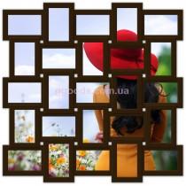 Фоторамка на 25 фото Классика 25