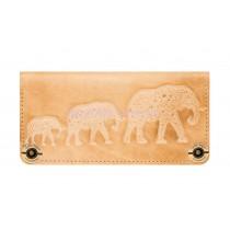 Кожаный кошелек Three Elephants