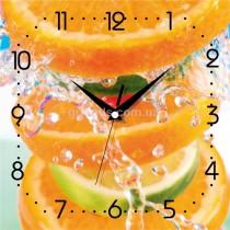 Настенные часы Цитрусы