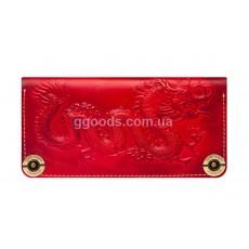 Кожаный кошелек Dragon