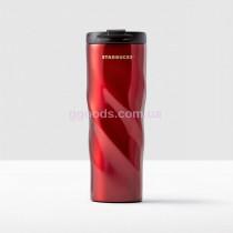 Термокружка Starbucks Swirl Red