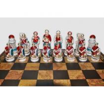 Шахматные фигуры Битва при Клеопатре средние Nigri Scacchi
