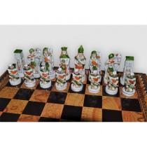 Шахматные фигуры Битва при Клеопатре малые Nigri Scacchi