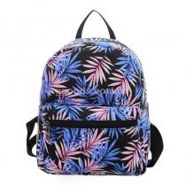Мини-рюкзак женский Пальмовые листья